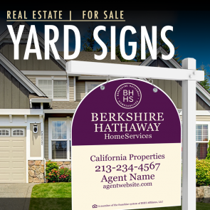 Berkshire Hathaway Real Estate Signs Rapid O Signs