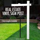 Real Estate Vinyl Sign Post