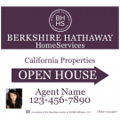 """22"""" x 24"""" Directional Signs - B"""