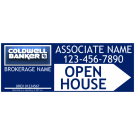 """9"""" x 24"""" Directional Signs - B"""