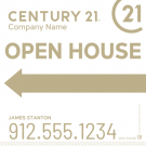 """24"""" x 24"""" Directional Signs - H"""