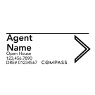 "9"" x 24"" Directional Signs - A"