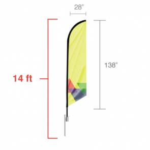 Feather Flag - Large 14'