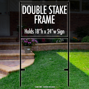 "Double Stake Frame 18"" x 24"""
