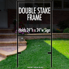 "Double Stake Frame 24"" x 24"""
