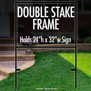 "Double Stake Frame 24"" x 32"""