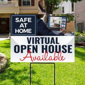 Virtual Open House Sign 06