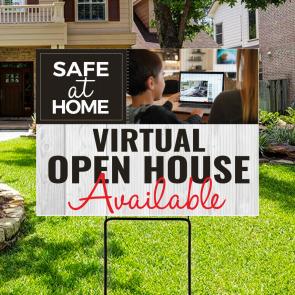 Virtual Open House Sign 07